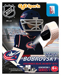 OYOHCBJSB-NHL FIG BLUEJACKET BOBROVSKY G