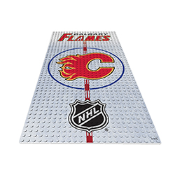 OYOHDPCF-NHL DISPLAY PLATE FLAMES