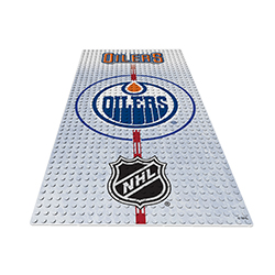 OYOHDPEO-NHL DISPLAY PLATE OILERS