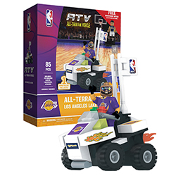 OYOKATVLAL-NBA ATV W/SUPER FAN LAKERS
