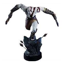 PBMGH025-GOD OF WAR STATUE KRATOS LUNGE