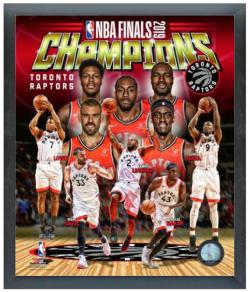 FINALS CHAMP RAPTORS COLLAGE 8X10 SPORT FRAME