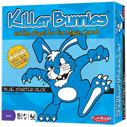 PLE40100-KILLER BUNNIES QUEST BLUE SK