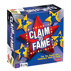 PLE65100-CLAIM TO FAME PARTY GAME