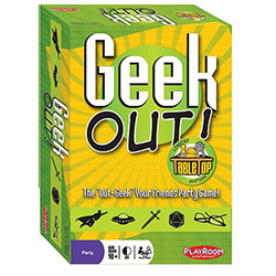 PLE66202-GEEK OUT! TABLETOP LTD EDITION