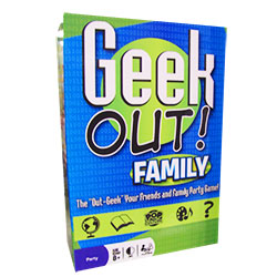 PLE66203-GEEK OUT! FAMILY EDITION