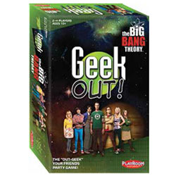 PLE66204-GEEK OUT! BIG BANG THEORY ED