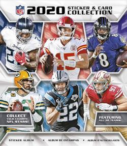 PNF20SA-2020 PANINI NFL STICKER ALBUM