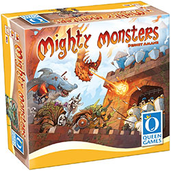 QNG10181-MIGHTY MONSTERS BOARD GAME