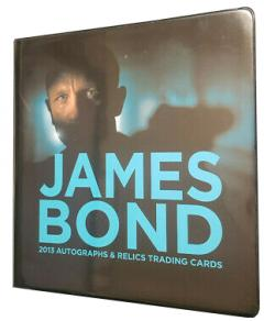 RHJB13ARA-JAMES BOND AUTO/RELIC ALBUM