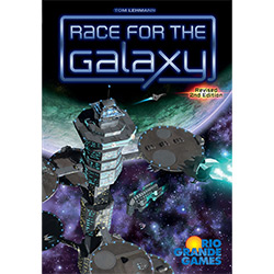 RIO301-RACE FOR THE GALAXY CARD GAME 2ND EDITION