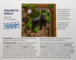 RIO382-ZOOLORETTO: GORILLA EXPANSION