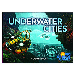 RIO564-UNDERWATER CITIES BOARD GAME