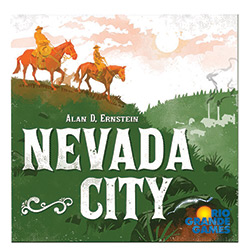 RIO566-NEVADA CITY BOARD GAME
