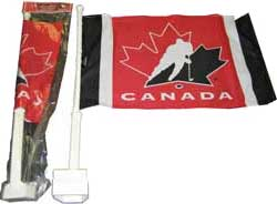SACFSTC-CAR FLAG 2 SIDE TEAM CANADA