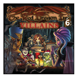 SFG026-RED DRAGON INN 6 VILLIANS EXPANDALONE