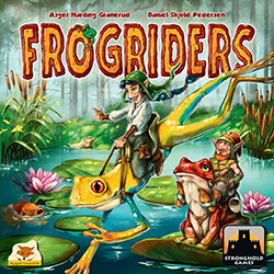 SG8027-FROGRIDERS BOARD GAME