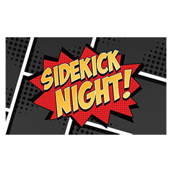 WKMH73108-SIDE KICK NIGHT MARVEL HEROCLI