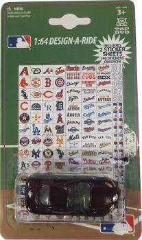 TDB13CWS-14 MLB CAR/ STICKERS (48/12)