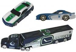 TDH12TT3PKVC-12 NHL 1/64 TRAN+2CAR/CANUCKS