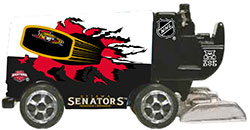 NHL 1/50 DIE CAST ZAMBONI SENATORS