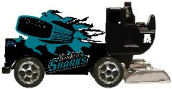 NHL 1/50 DIE CAST ZAMBONI SHARKS