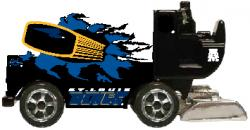 NHL 1/50 DIE CAST ZAMBONI BLUES