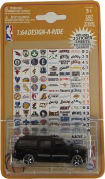 TDK13CWS-14 NBA CAR/ STICKERS (48/12)