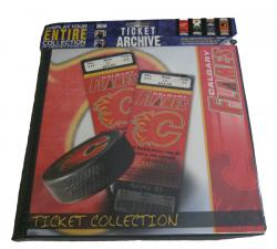 THMTHTACF-NHL TICKET ALBUM - FLAMES
