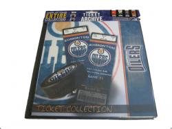 THMTHTAEO-NHL TICKET ALBUM - OILERS
