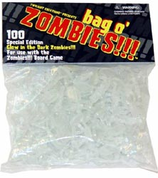 TLC2001-ZOMBIES!!! BAG O' GLOW