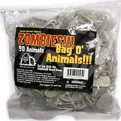 TLC2105-ZOMBIES!!! BAG O' ANIMALS