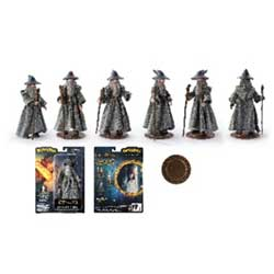 TNC006839-LORD OF THE RINGS BENDYFIGS GANDALF
