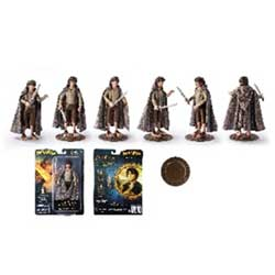 TNC006846-LORD OF THE RINGS BENDYFIGS FRODO