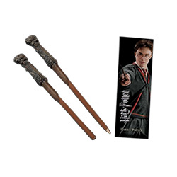 TNC014002-HARRY WAND PEN & BOOKMARK