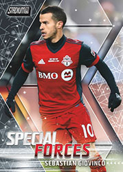 TOS18STCL-18 TOPPS STADIUM MLS SOCCER