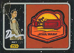 TOSW18ASS-18 TOPPS ARCHIVE SIGN STAR WARS