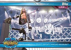 TOWWE19RTW-19 TOPPS WWE ROAD TO WREST