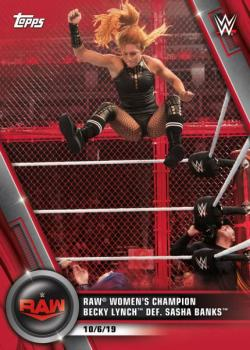TOWWE20WD-2020 TOPPS WWE WOMENS DIVISION