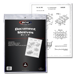 UBCW85X11SLV-8.5 X 11 DOCUMENT SOFT SLEEVES