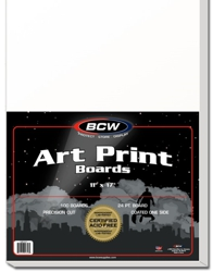 UBCWBB11X17-BACK BOARDS BCW ART PRNT 11X17