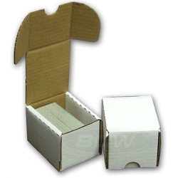 UBCWBX100-0100CT CARDBOARD CARD BOX