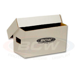UBCWBX45RPMBOX-45 RPM VINYL STORAGE BOX-10CT