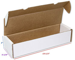 UBCWBXG1000-01000CT CARDBORD CARD BOX