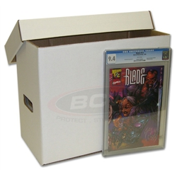 UBCWBXGCB-COMIC BOOK GRADED BOX-10CT