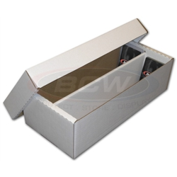UBCWBXSHOE-1,600CT CARDBOARD CARDBOX