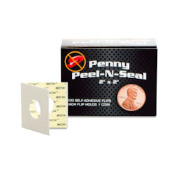 UBCWPS2PEN100-PAPER COIN FLIPS BOXED PENNY