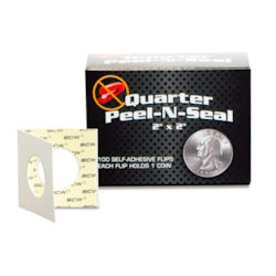 UBCWPS2QTR100-PAPER COIN FLIPS BOXED QUARTER