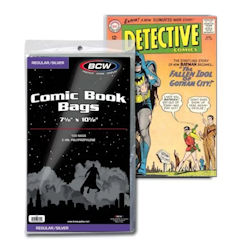 UBCWSIL-BAGS BCW COMIC SILVER/REGULAR