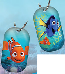 UDDTFD-16 UD FINDING DORY DOG TAGS
